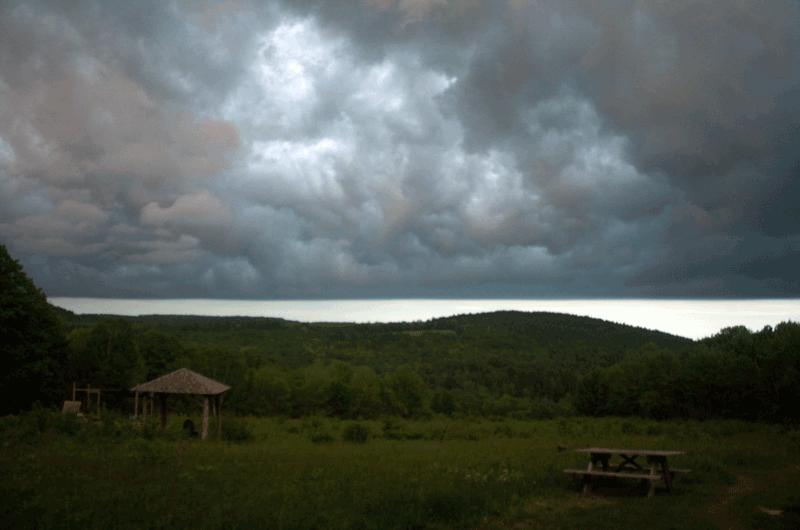 Sky at Rebel Hill Farm